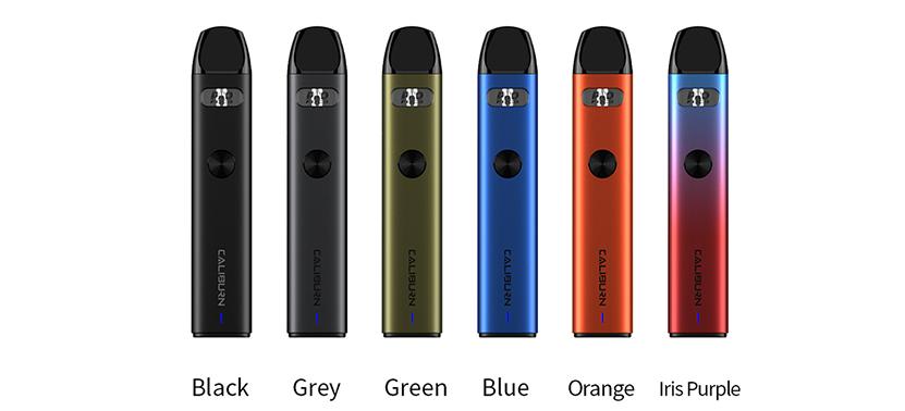 Uwell Caliburn A2 Kit colors