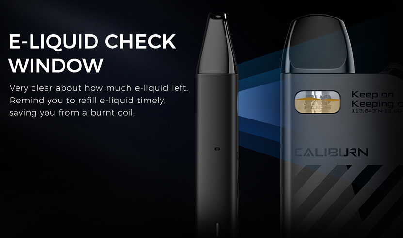 Uwell Caliburn AK2 Kit Feature 4