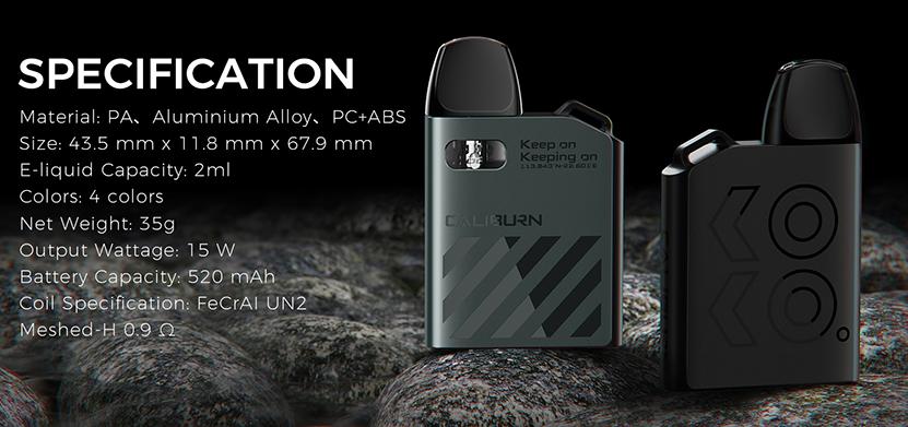 Uwell Caliburn AK2 Kit Feature 9