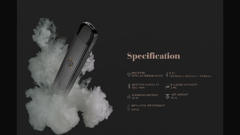 Uwell Caliburn G Kit Feature 10