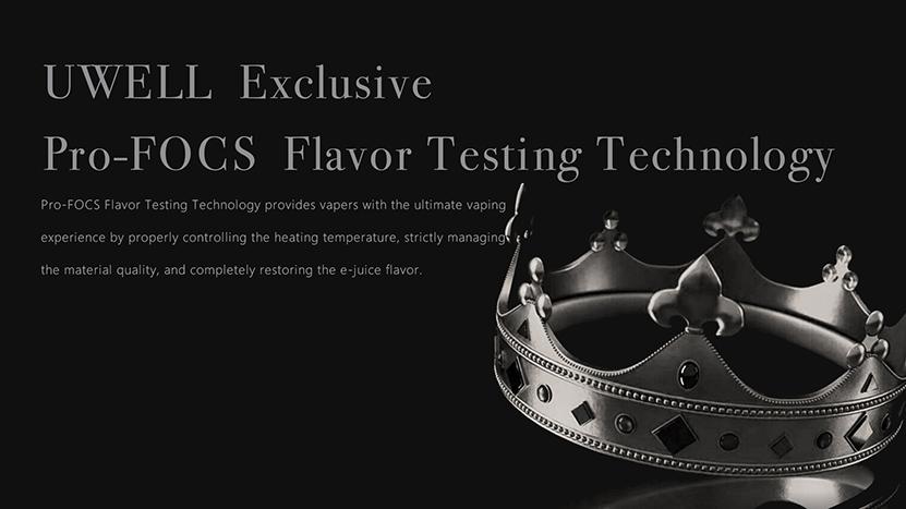 Crown V Tank Flavor Tech