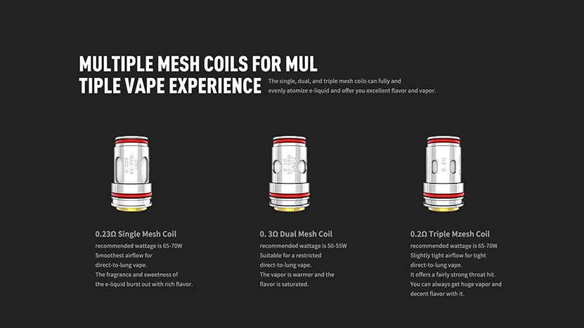 Uwell Crown V Kit Feature 4