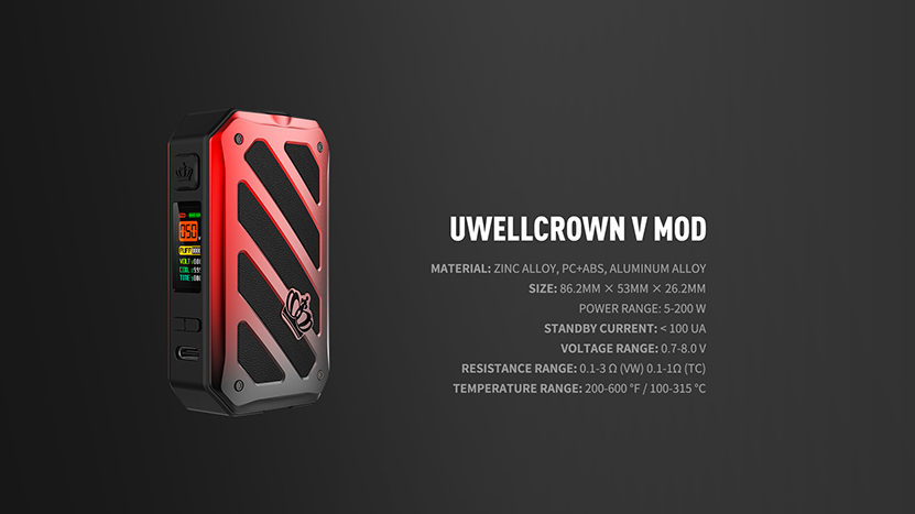 Uwell Crown V Kit Feature 9