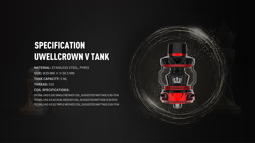 Uwell Crown V Kit Feature 12