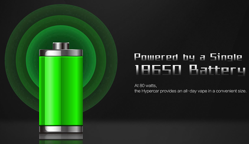 Uwell Hypercar Box Mod Feature 1