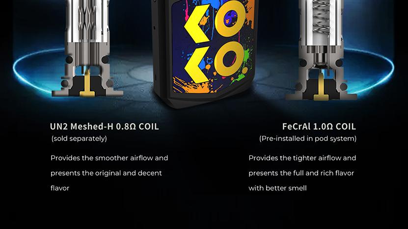 Uwell Caliburn KOKO Prime Starter Kit Coil Type
