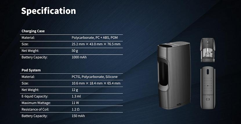 Uwell MarsuPod PCC Kit Feature 8