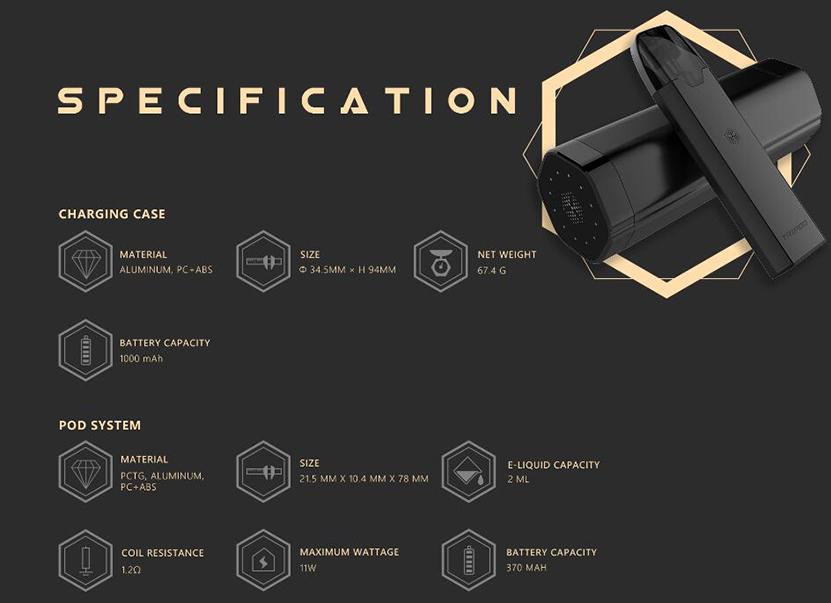 Uwell Tripod PCC Kit Feature 10