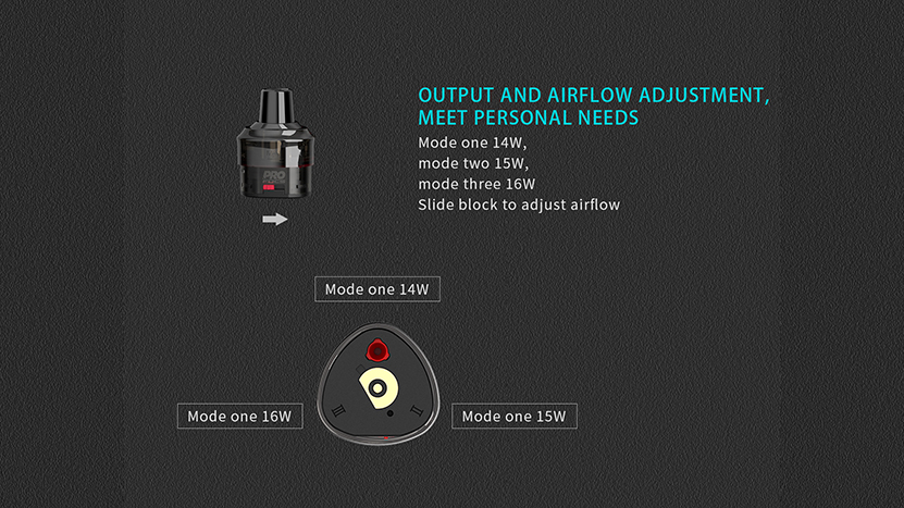 Uwell Whirl T1 Kit Feature 1