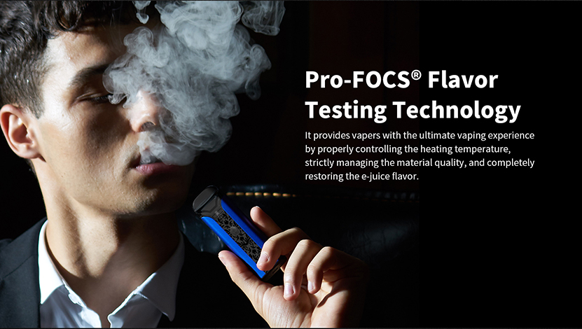 Crown Pod Kit Pro-FOCS Flavor Testing Technology