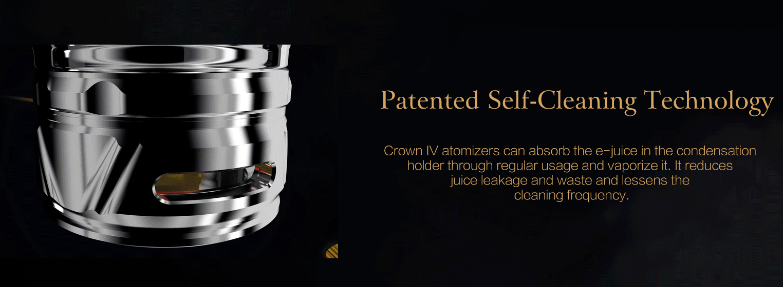 Uwell Crown 4 Vape Kit Features 5