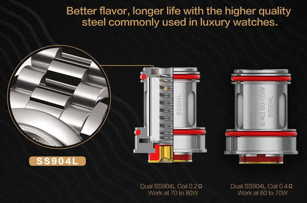 Uwell Crown 4 Vape Kit Features 7