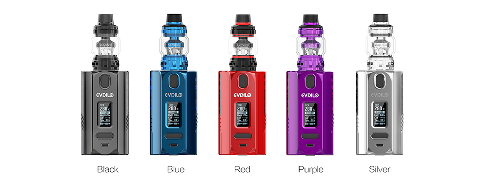 Uwell EVDILO Kit 5 Colors