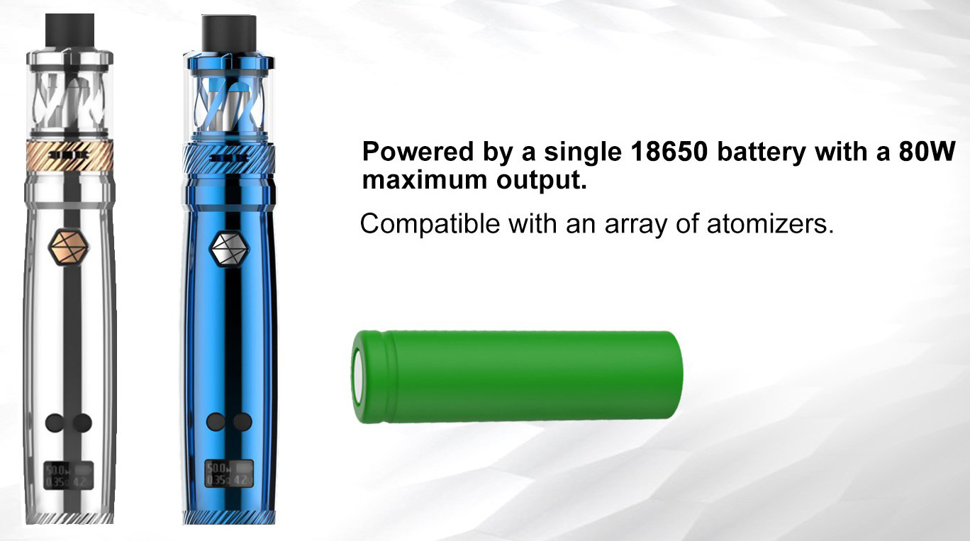 Uwell Nunchaku 80W Kit Features 5