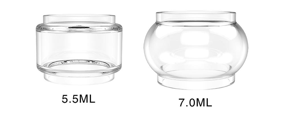 VAPMOR V-Tank Bulb Glass 2 types