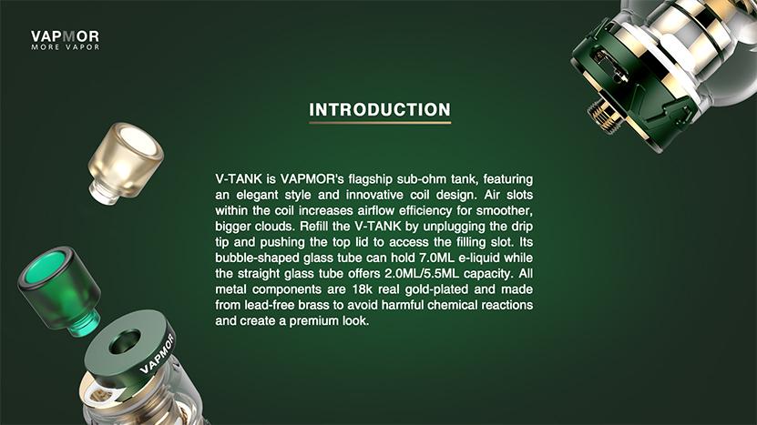 VAPMOR V-Tank Features 3