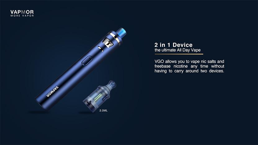 VAPMOR VGO Kit Features 2