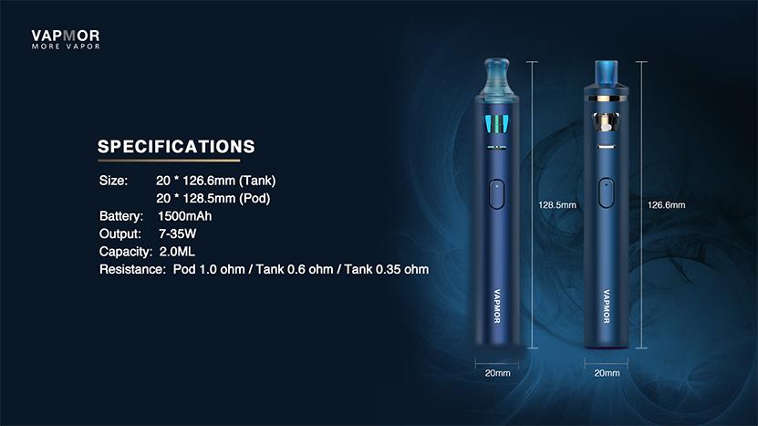 VAPMOR VGO Kit Features 11