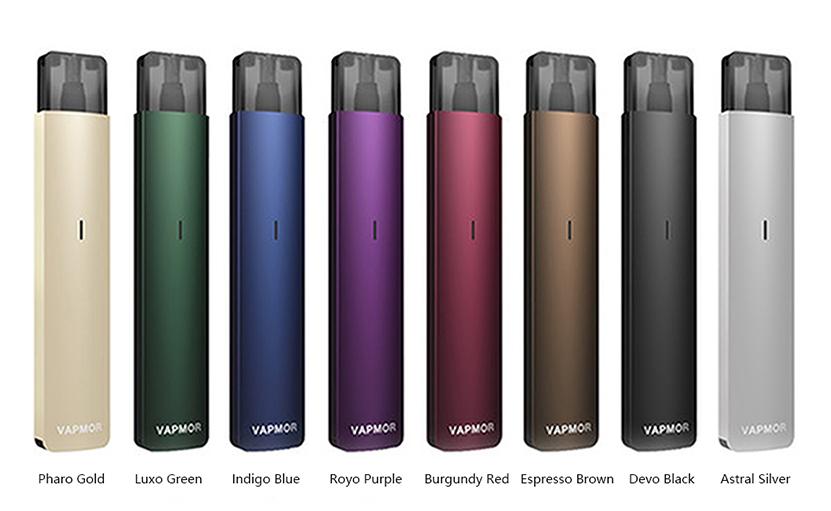 VAPMOR VTURN Pod Kit Colors