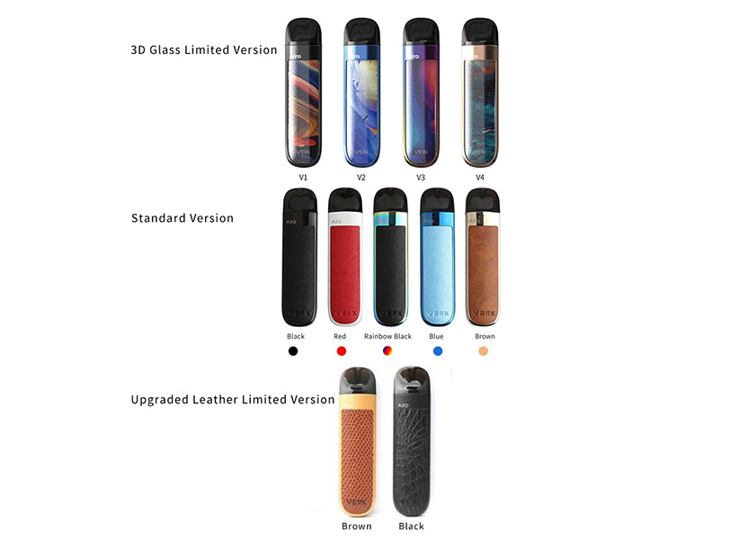Veiik Airo Pod Kit Colors