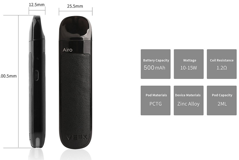 VEIIK Airo Pod Kit Feature 4
