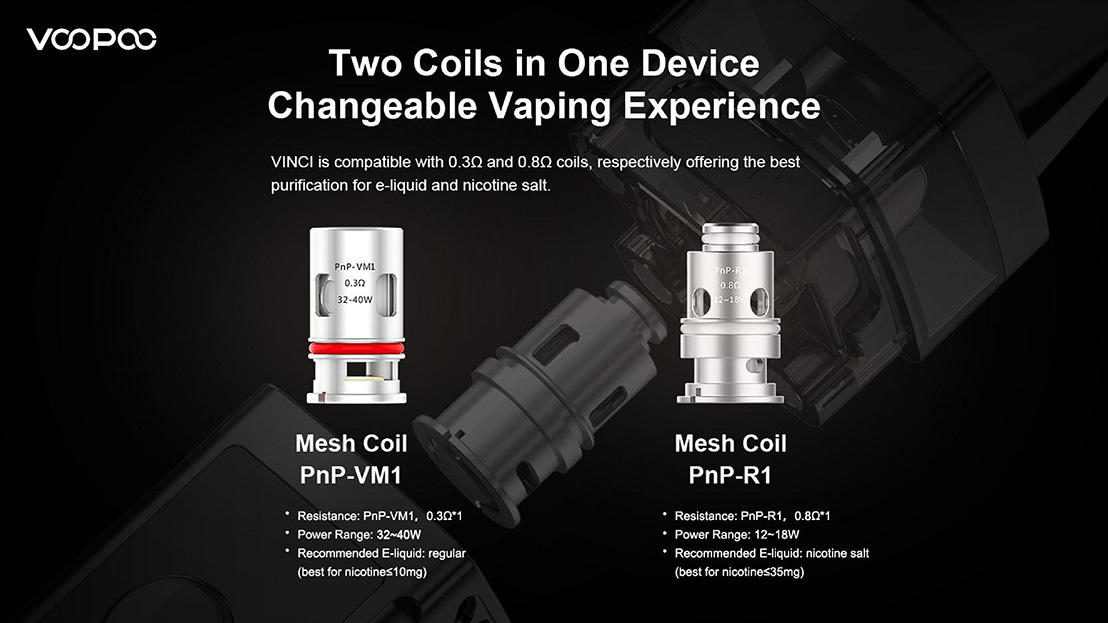 VINCI Replacement Coils 1