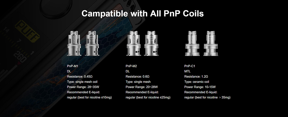 VINCI Replacement Coils 2