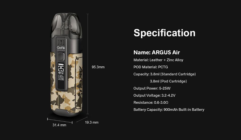 VOOPOO Argus Air Kit Feature 12