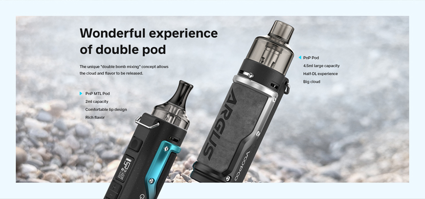 VOOPOO Argus Mod Kit Double Pods