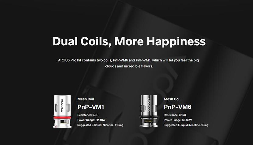 Argus Pro Pod Mod Kit Dual Coils