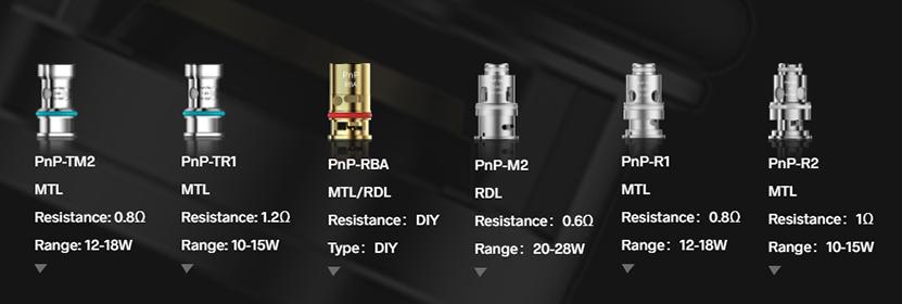 VOOPOO Argus Pro Kit PnP Coils 1