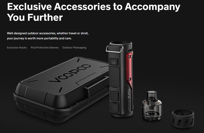 VOOPOO Argus Pro Kit Portable Design