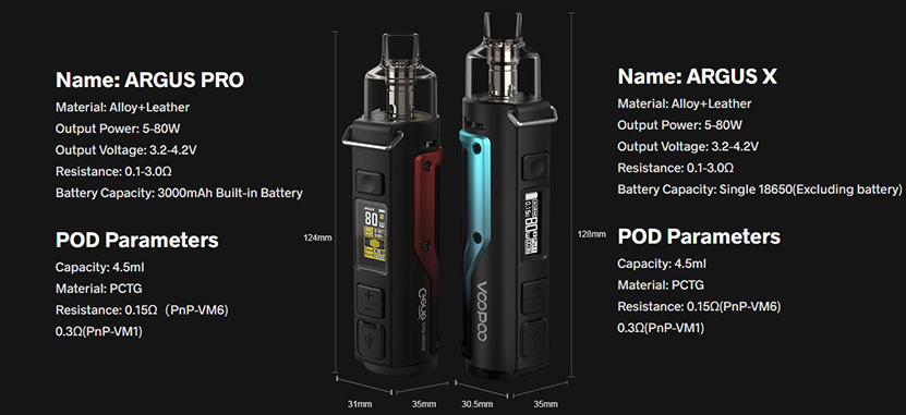 VOOPOO Argus X Kit Feature 15