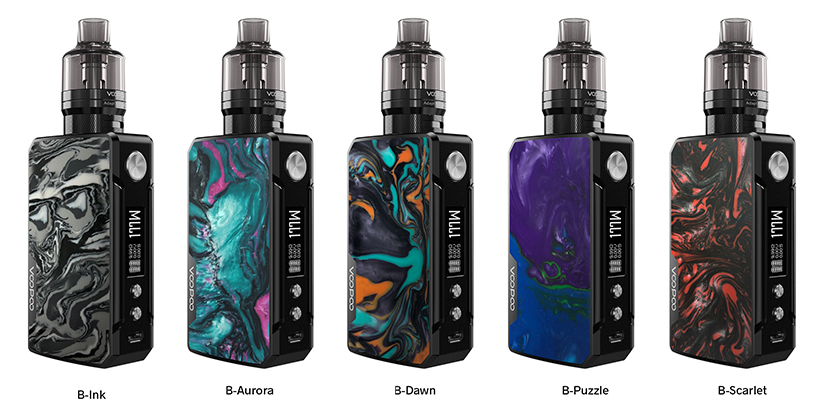 VOOPOO Drag 2 Kit Refresh Edition Colors