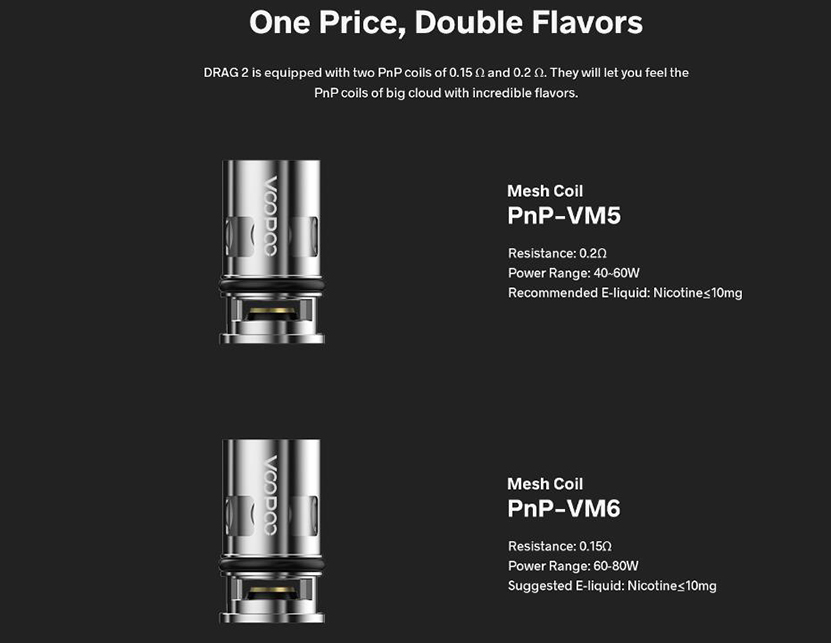 VOOPOO Drag 2 Kit Refresh Edition Feature 3