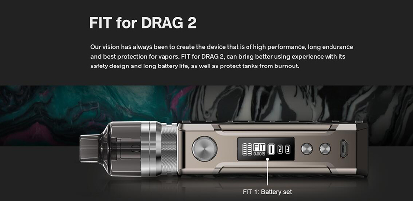 VOOPOO Drag 2 Kit Refresh Edition Feature 6