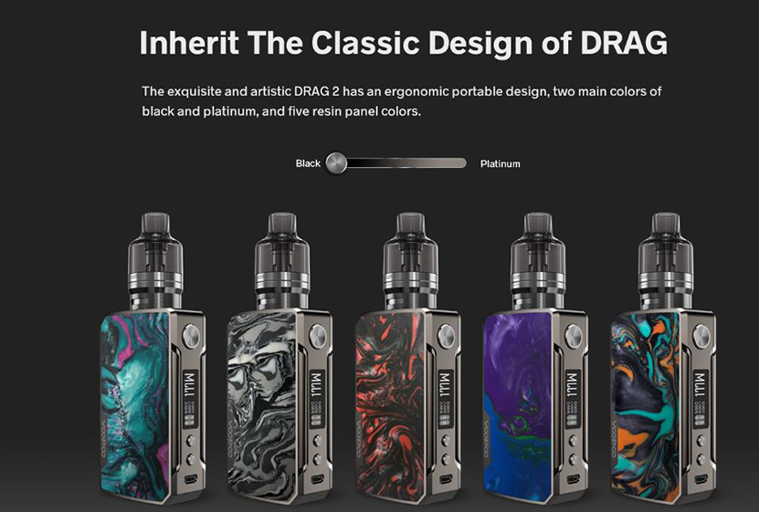 VOOPOO Drag 2 Kit Refresh Edition Feature 7