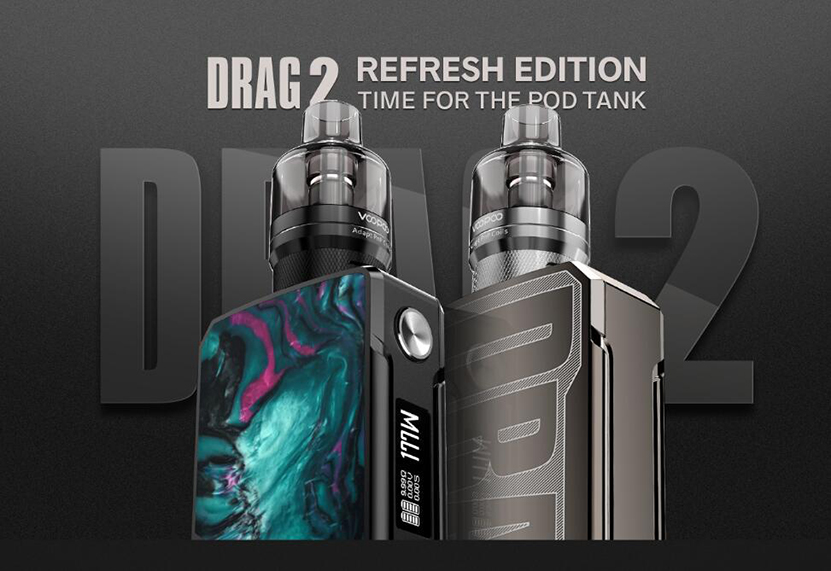 VOOPOO Drag 2 Kit Refresh Edition Feature 1