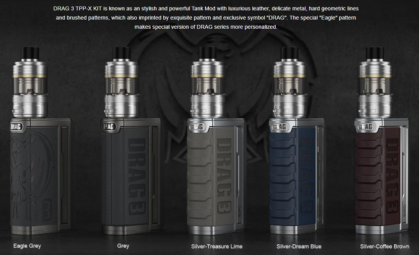 VOOPOO Drag 3 TPP-X Kit Feature 6