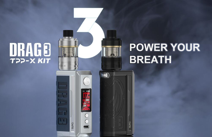 VOOPOO Drag 3 TPP-X Kit Feature 1
