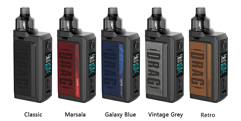 VOOPOO Drag Max Kit Colors