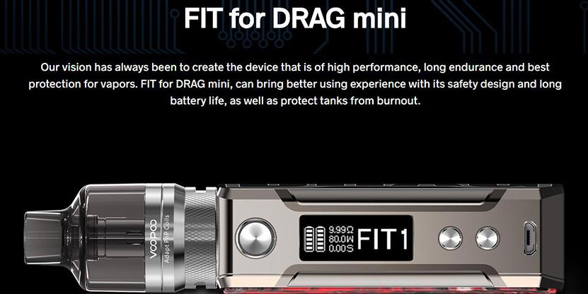 VOOPOO Drag Mini Platinum Refresh Kit Feature 6