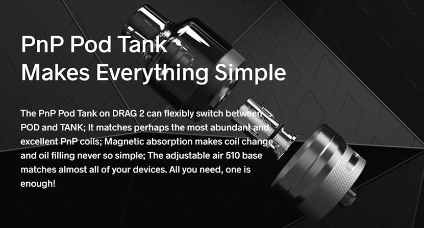 VOOPOO Drag Mini Platinum Refresh Kit Feature 7