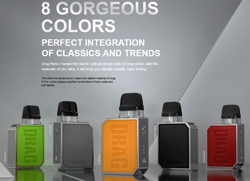 VOOPOO Drag Nano 2 Kit Colour