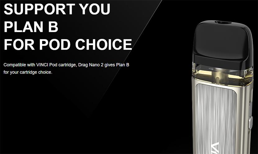 VOOPOO Drag Nano 2 Kit Pod Cartridge