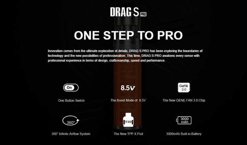 VOOPOO Drag S Pro Kit Feature 9