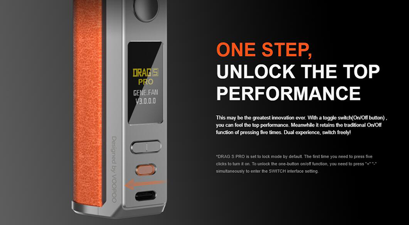 VOOPOO Drag S Pro Kit Feature 15