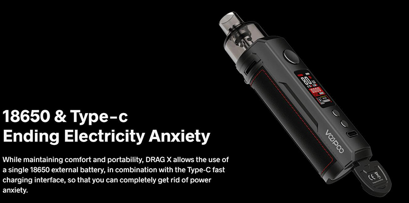 VOOPOO Drag X Kit Feature 2