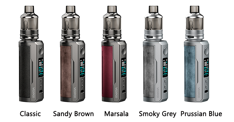 VOOPOO Drag X Plus Kit Colors