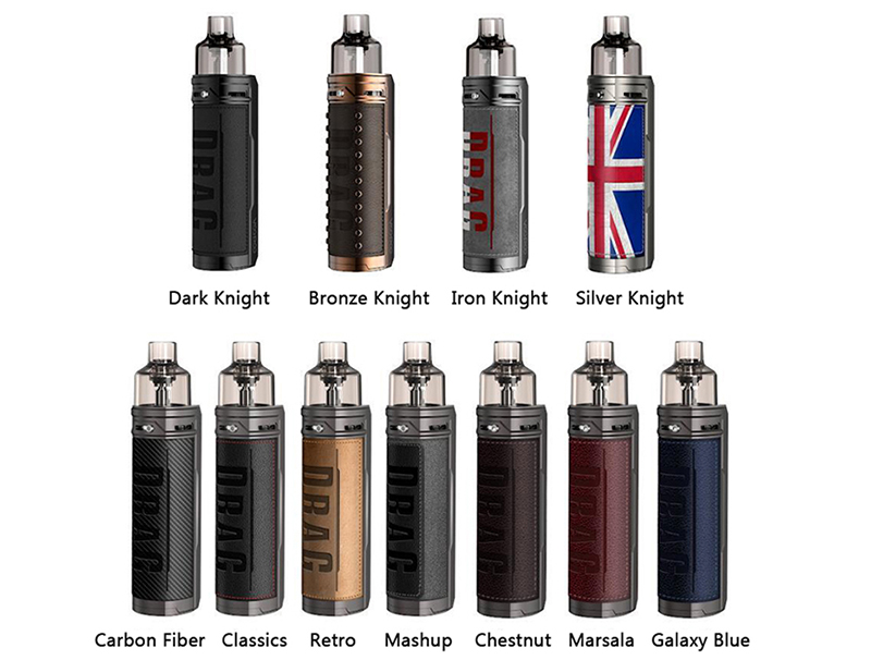 VOOPOO Drag X Mod Pod Kit 7 Colors